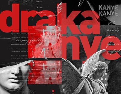 Drake & Kanye // Posters