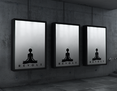 Revolt: Concept Logo Design.