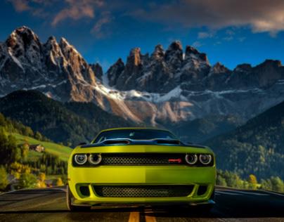 Commercial shoot for BMW, Bentley, Dodge