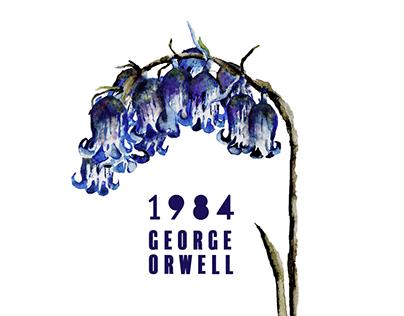 1984 Book Cover Design