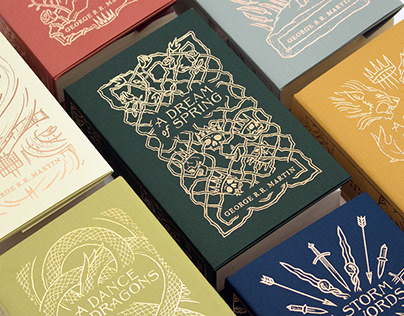 A Song of Ice & Fire Book Set