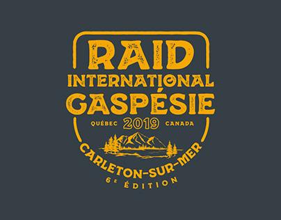 Raid International Gaspésie - T-shirt 2019