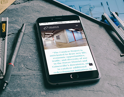Oelrich Construction Website
