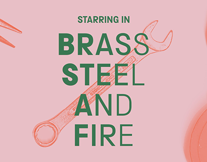 Brass Steel and Fire Social Media Ad