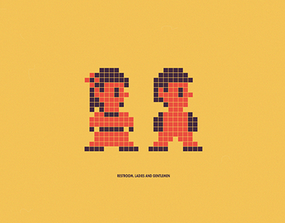 Pixel pictograms