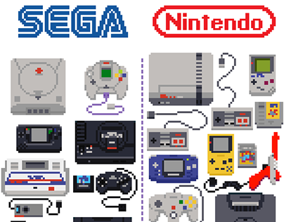 90's gaming devices