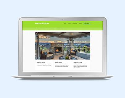 Habitat Interiors–Responsive Website