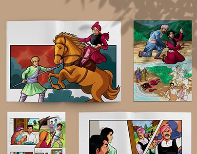Colour- Comic Book