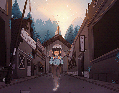 A Ghost in town