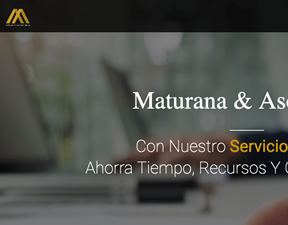 Pagina wordpress Maturana & Asociados