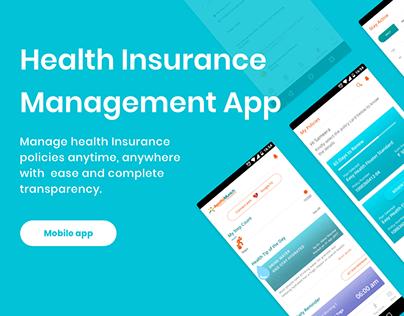 UX UI insurance app