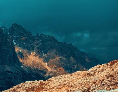Mountains of Dolomites