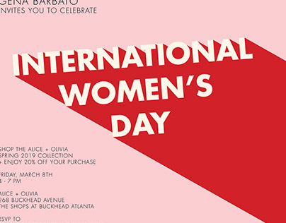 International Women's Day Invitations