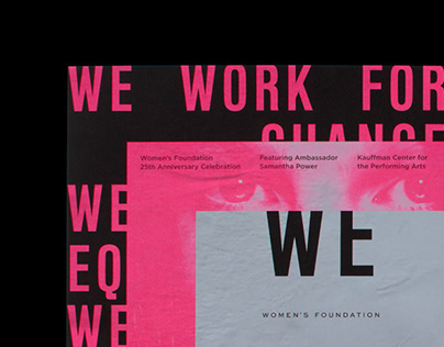 Women's Foundation 25th Anniversary Campaign