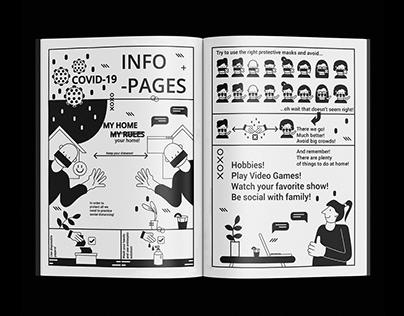 Quaranzine illustration Infographic