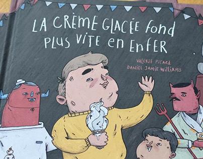 'La Crème Glacée...' Illustrated Children's Book