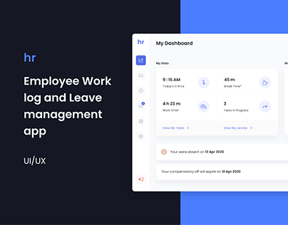 Employee Timesheet and Leave management app - UI/UX