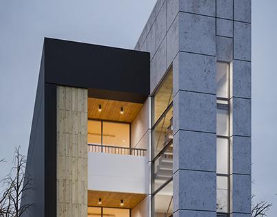 6x34 Apartment building