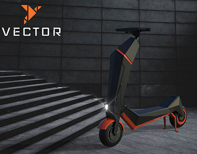 VECTOR | Personal Mobility Scooter Design