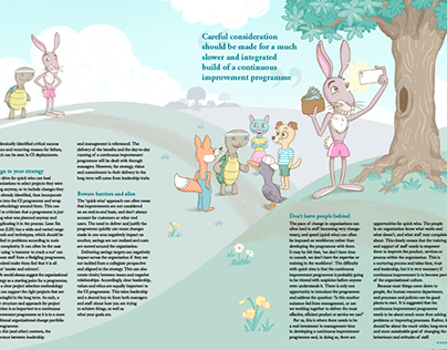 Quality World magazine - The rush to improve