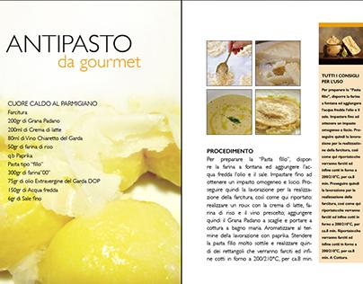 Impaginato ricetta (Antipasto da gourmet)