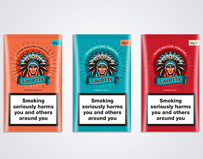 Lacotte Hand Rolling Tobacco - Packaging Design