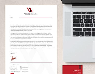 Vassallo Associates - Corporate Identity