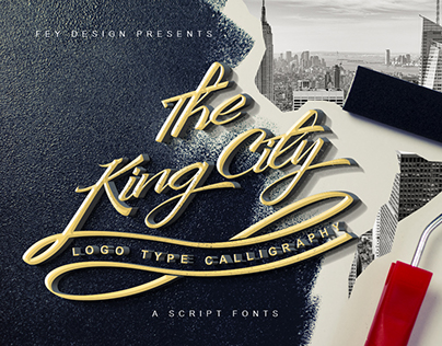 King City Free Font