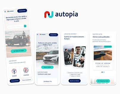 Autopia UI redesign