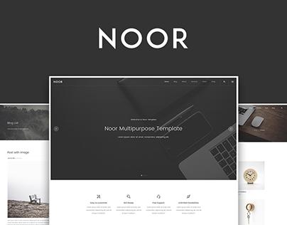 Noor Creative Multipurpose WordPress Theme