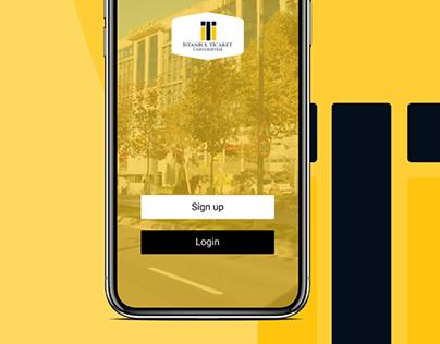 Istanbul Commcerce University Mobile App