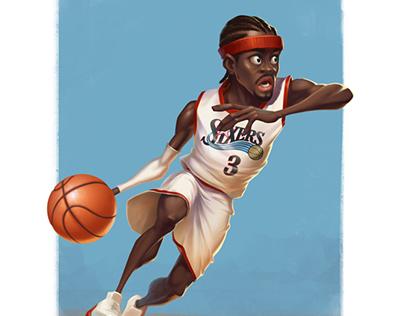 Some NBA stars