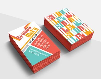 Bauhaus Inspired Business Card
