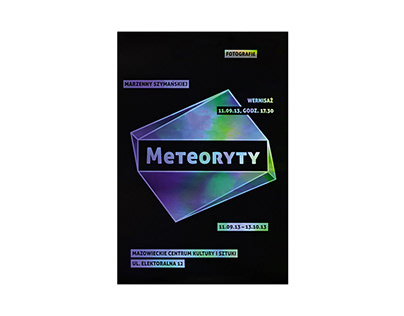Meteorites photo exhibition