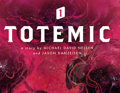 TOTEMIC - Comic Book Cover Illustration