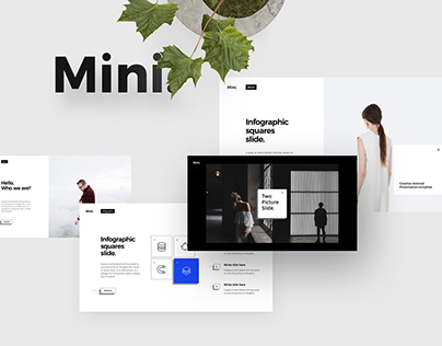Free - Mini Powerpoint Template