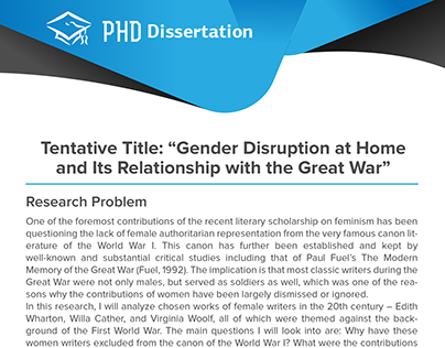 phd dissertation report Thesis - a document submitted to earn a degree at a university dissertation - a document submitted to earn an advanced degree, such as a doctorate, at a university.