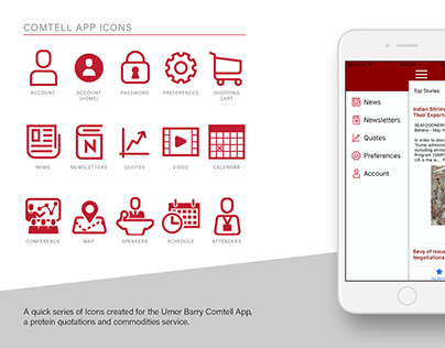 Comtell App Icons