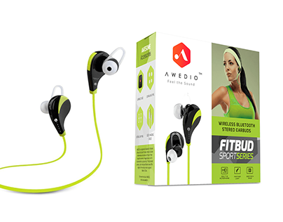 Print and Packaging Design (AWEDIO, FITBUD)