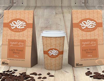 QAHWA Brand package design