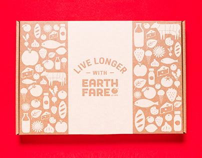 Earth Fare eCommerce Shipper Box Design