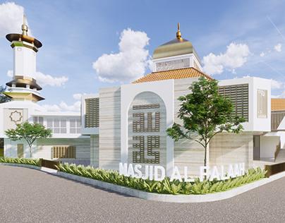 3D Animation Visualization - Mosque Al Falaah