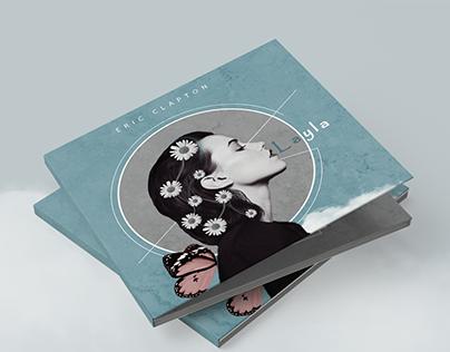 CD Design Concept. Eric Clapton - Layla