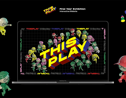 THISPLAY: Final Year Exhibition | Website