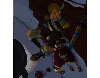 Fan art From zelda game series