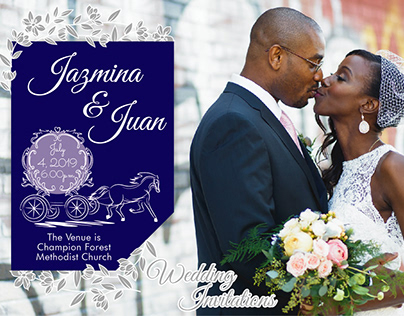 The Wedding Invitation Card Design