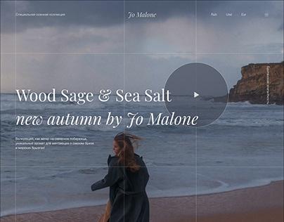 Cologne Wood sage & Sea Salt by Jo Malone, promo