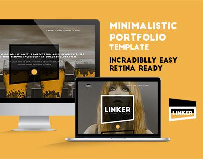 Linker - Minimalistic Portfolio