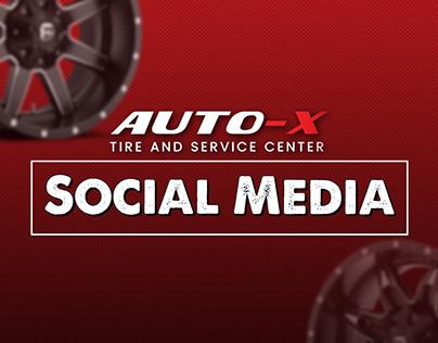 Auto X Tire and Car Service Center   Social Media 2019