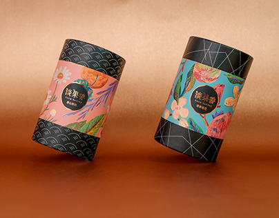 [淡果香From Nature]花果茶Fruit Tea Packaging Design